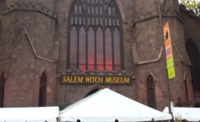 salem witch museum halloween