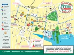 Salem Trolley Map