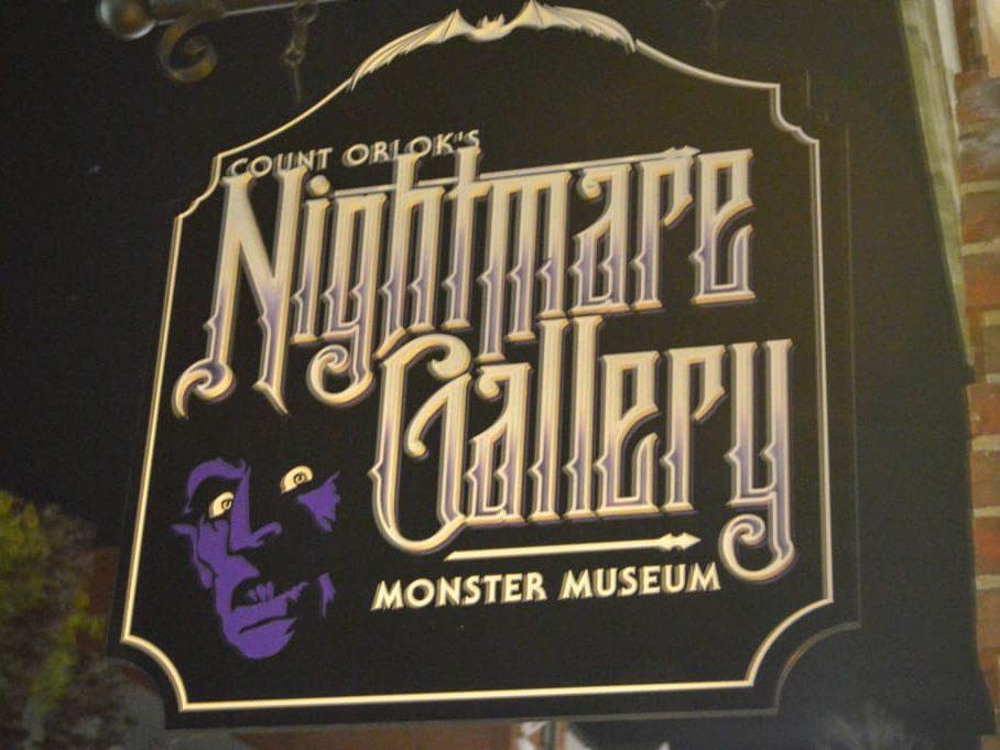 Count Orlok's Nightmare Gallery Salem Massachusetts