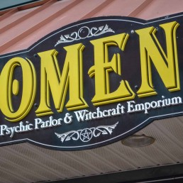 Omen Psychic Parlor and Witchcraft Emporium Psychic Reading Tarot Decks