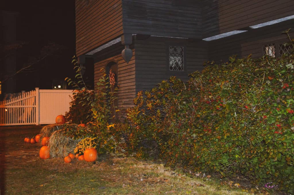 the witch house exterior