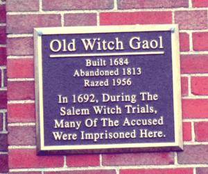 1692 Salem Jail